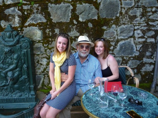 It's Francis Ford Coppola! My new best friend!!