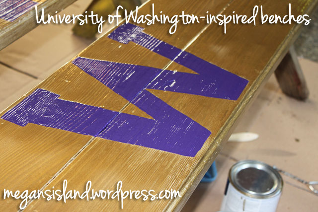 UW-inspired benches
