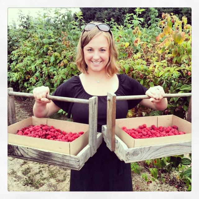 2013-7-30 Rasberries