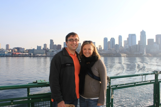 And on our actual anniversary, a trip to Bainbridge