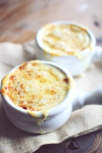 French onion soup. LOVE!