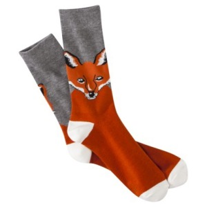 Target also has Fox Socks. Foxes are all the rage!