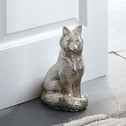 This was one sturdy fox! So sturdy that he'd be perfect for holding open the door... Love West Elm!