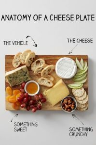 A cheese plate would be a great idea... I mean, how good does that look!?