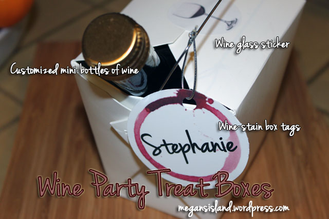Wine tasting gift boxes | Megan's Island Blog