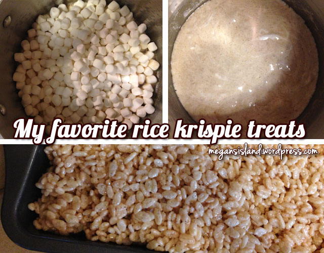 Rice Krispie Treats | Megan's Island