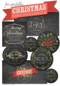 Printable gift tags #1