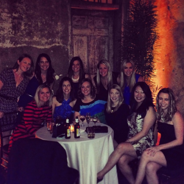 Here are most of my ladies at the wedding. Such a fun weekend!!