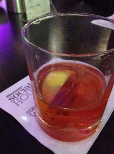 The Sazerac. Yes, please.