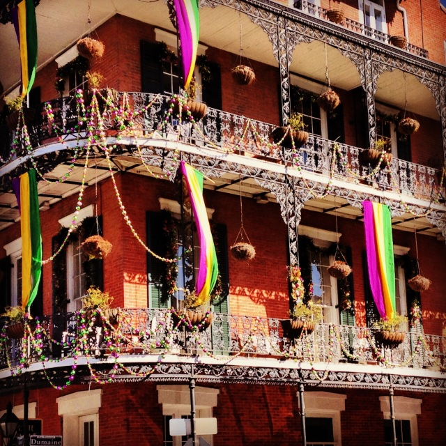 Getting ready for Mardi Gras!