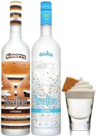 And, of course: Carrying on with the chocolate and marshmallow theme: BOOZES!