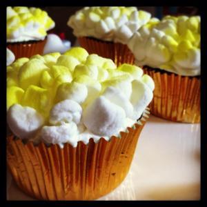 Megan's Popcorn Cupcakes