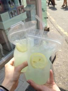 Adult Capri Suns (vodka + lemonade): yes, please
