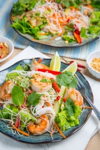 Vietnamese summer roll salad: yes, please
