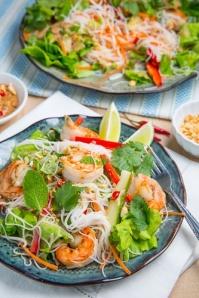 Vietnamese summer roll salad: yes, please