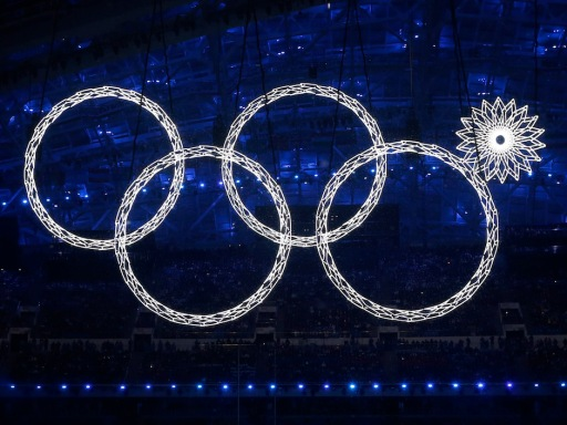 Opening Ceremony Sochi ring fail