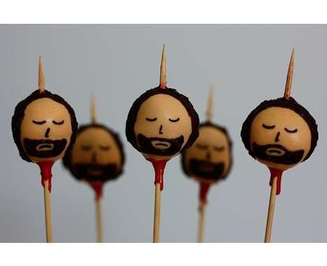 Anyone for a Ned Stark (Game of Thrones) head on a stick (cake ball)?!