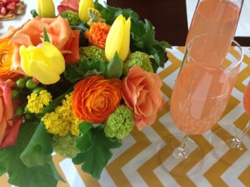 Mother's day mimosas