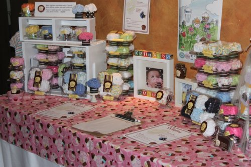 Here's my Little Britches Bakery show set up