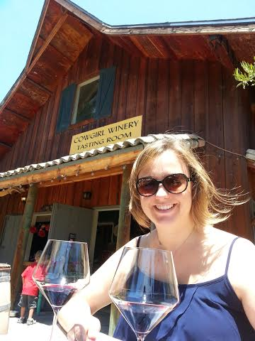 Me at Cowgirl Winery