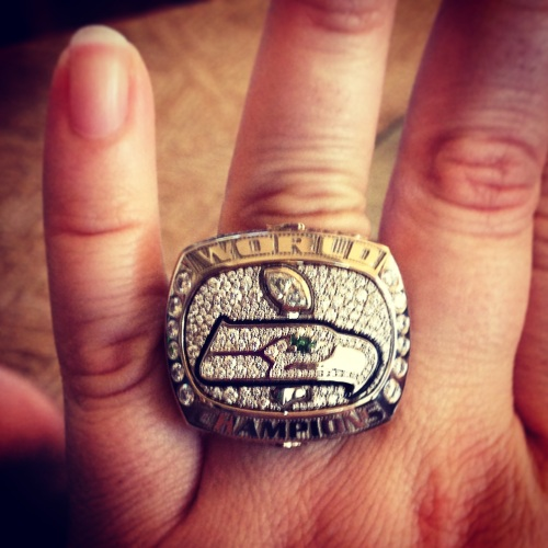 Oh, hello, SuperBowl Ring!