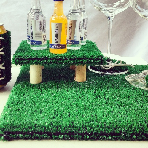 AstroTurf platters: works with any size tile!