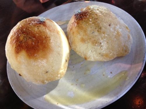 Puffed Sour Bread, caraway, fennel pollen and sea salt