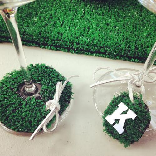 AstroTurf wine tags