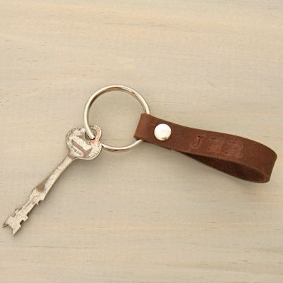Or a leather key chain?