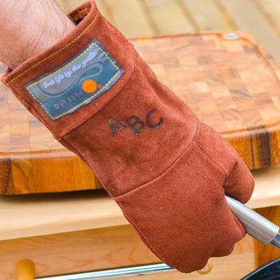 This leather BBQ mitt is pretty fun...