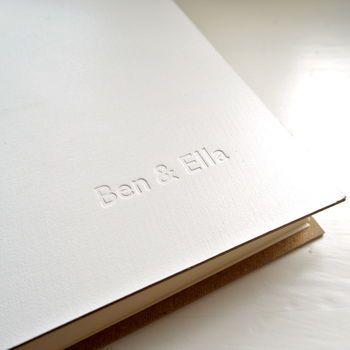 A personalized scrapbook? Scrapbook