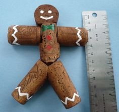 Gingerbread cork man