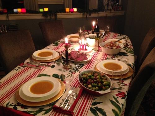 Our Christmas Eve feast