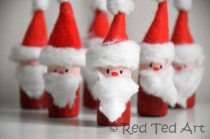 Santa corks