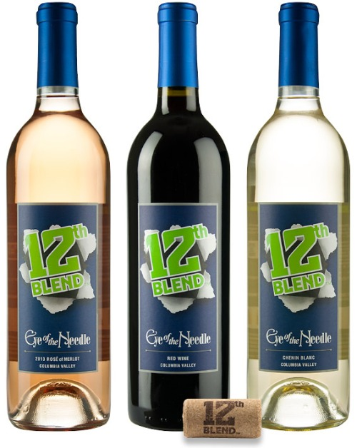 Seahawks 12th Blend: Red, White and Rose!