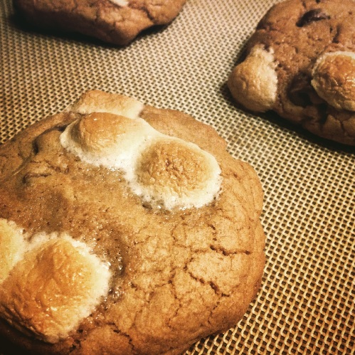 Hot Cakes s'more cookies