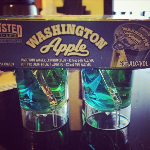 Washington Apple Twisted Shotz
