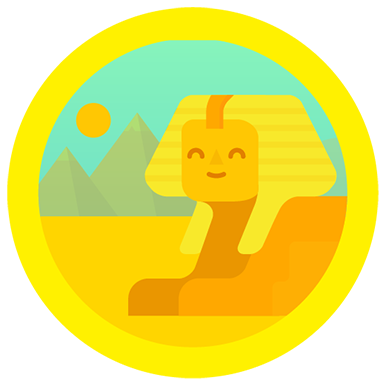 My much-deserved Nile badge for my thousands of steps