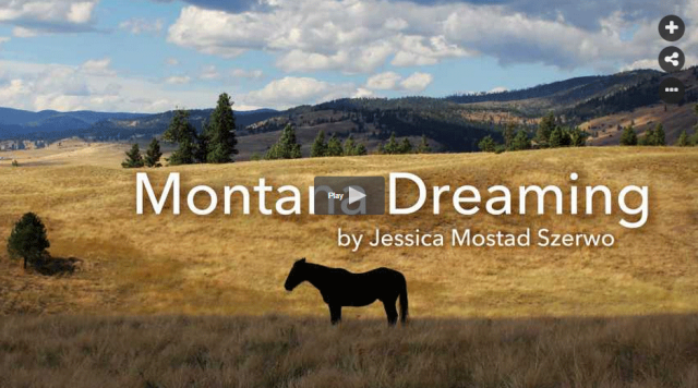 Vote for Jessica's film: Montana Dreaming