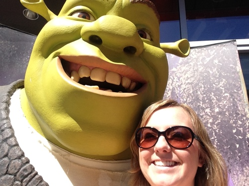 ...And hung out with Shrek