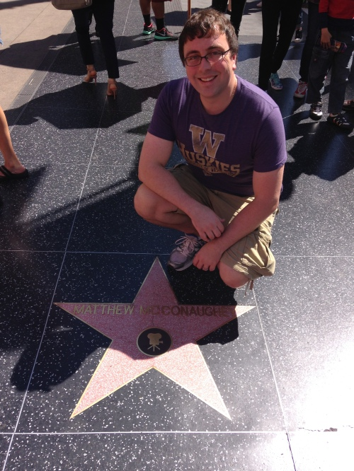 Saw one of Brandon's hero's stars