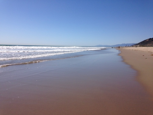 Ventura Beach. I do love the coast!