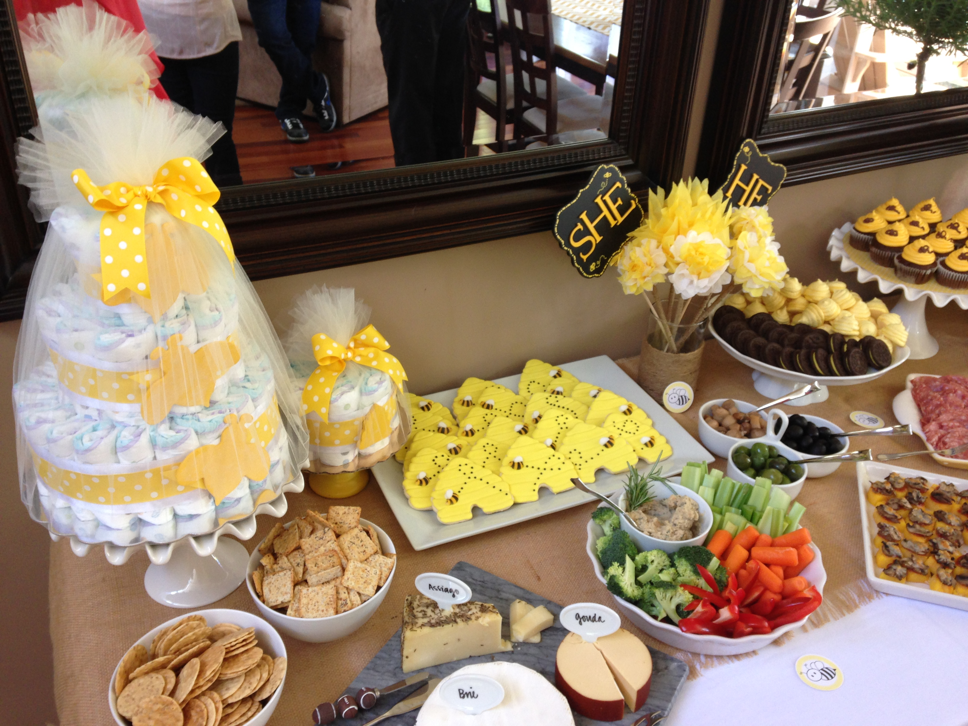 Our Bumble Bee Themed Gender Reveal Party