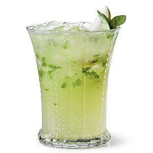 Pear basil sipper