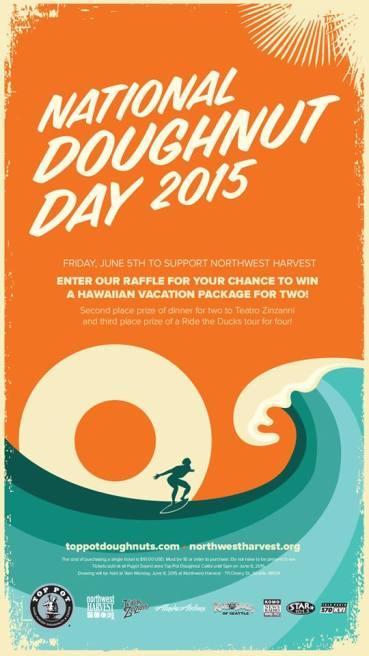 Tomorrow: National Doughnut Day!