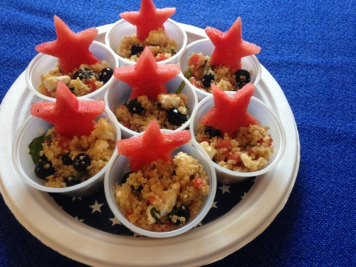 Star Spangled Quinoa Salad