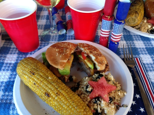 Our fourth of July feast