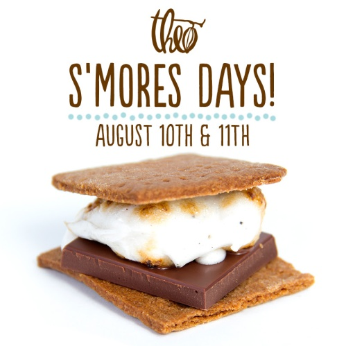 S'mores for TWO days at Theo!