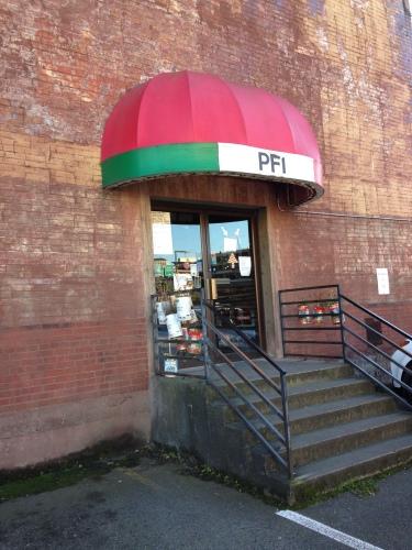 PFI's non-descript entrance