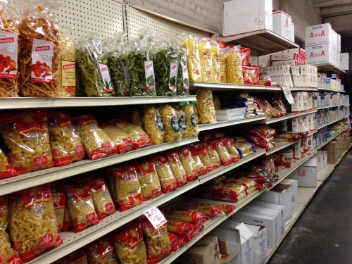 Dried pasta section, part one